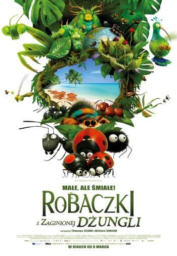 Bajka dla dzieci Robaczki z Zaginionej Dżungli 2019