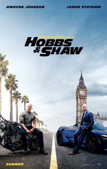 Film akcji Szybcy i wściekli 2019 Hobbs Shaw