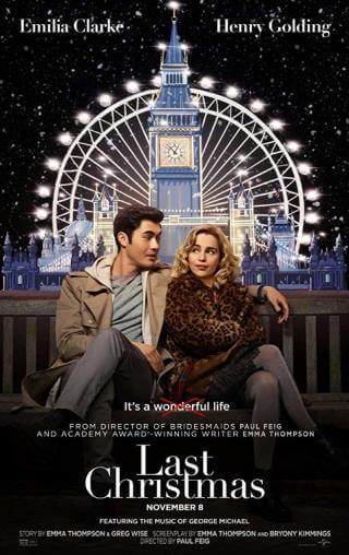 świąteczna komedia romantyczna 2019 Last Christmas