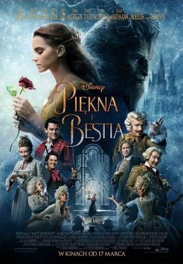 Film fantasy Piękna i Bestia 2017 Emma Watson
