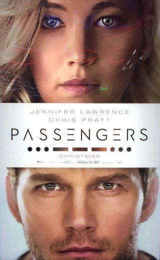 Film Sci-Fi Pasażerowie 2016 Jennifer Lawrence