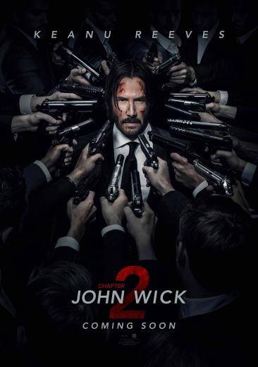 Film akcji John Wick Chapter Two 2017