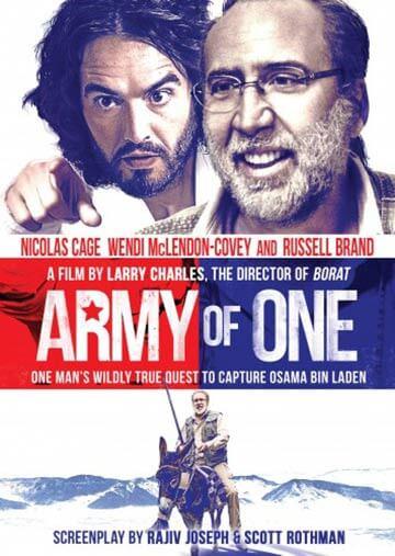 Komedia Army of One 2016 Nicolas Cage
