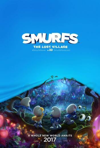 Bajka dla dzieci Smurfs The Lost Village 2017
