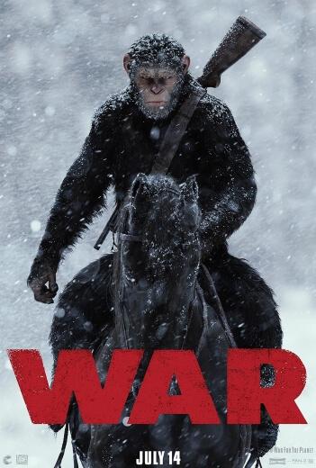 Film 3D Wojna o planetę małp 2017