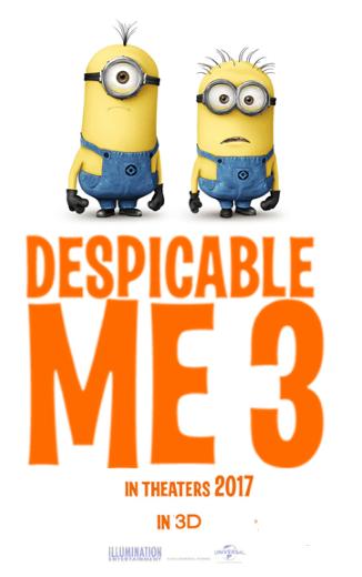 Bajka dla dzieci Despicable Me 3 2017