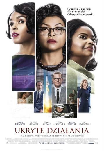 Ukryte działania (2017) - Film o trzech Afroamerykankach pracujących dla NASA