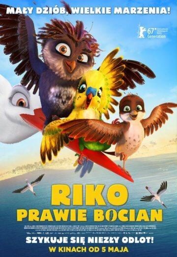 Bajka dla dzieci Riko prawie bocian 2017