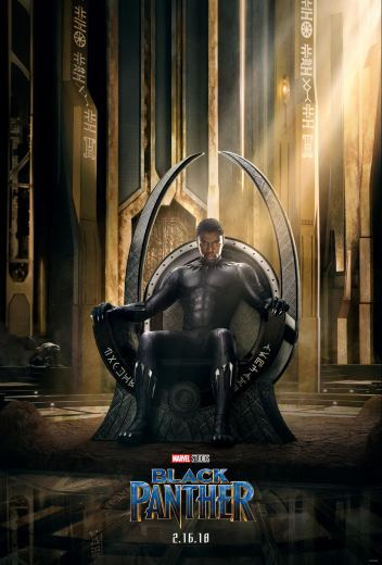 Film akcji Czarna Pantera Marvel 2018