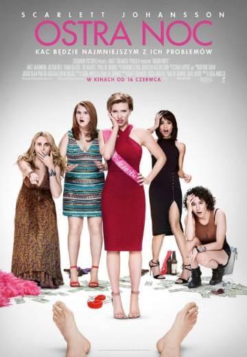 Komedia Ostra noc 2017 Scarlett Johansson