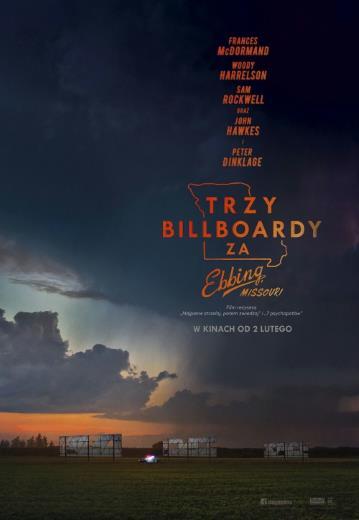 Film Trzy billboardy za Ebbing, Missouri 2018
