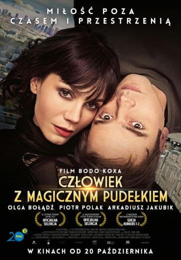 Polski film romantyczny Człowiek z magicznym pudełkiem 2017