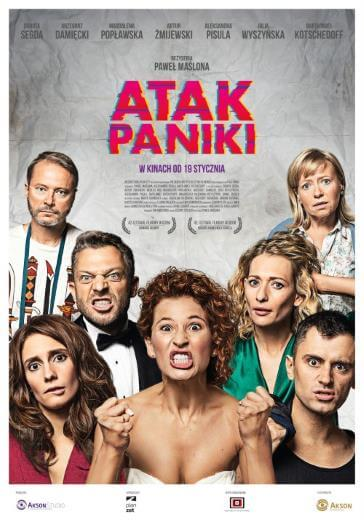 polski film Atak paniki 2018 Artur Żmijewski