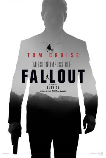 Film akcji Mission Impossible Fallout 2018 Tom Cruise