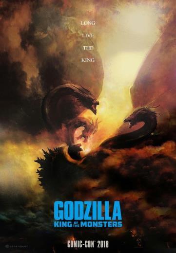Film sci-fi Godzilla II Król potworów 2019