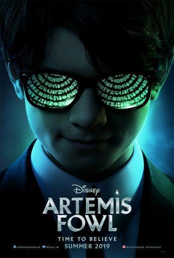 Film przygodowy dla dzieci Artemis Fowl 2019 Disney