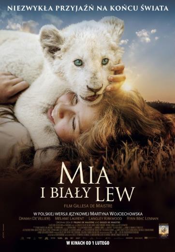 Film familijny Mia i biały lew 2019