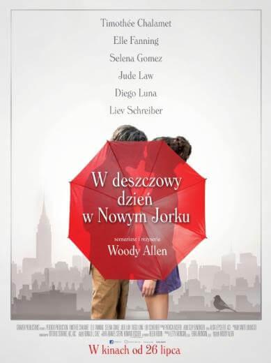 Komedia Woody Allen W deszczowy dzień w Nowym Jorku 2019